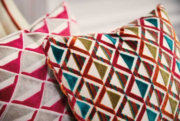 Ткани подушки Harlequin заказать в Москве | Les Stores