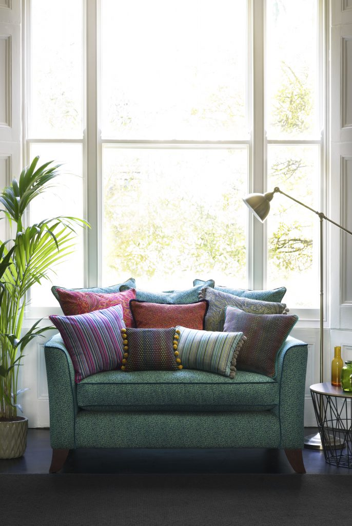Pavo Sofa - Cushion Pile Portrait