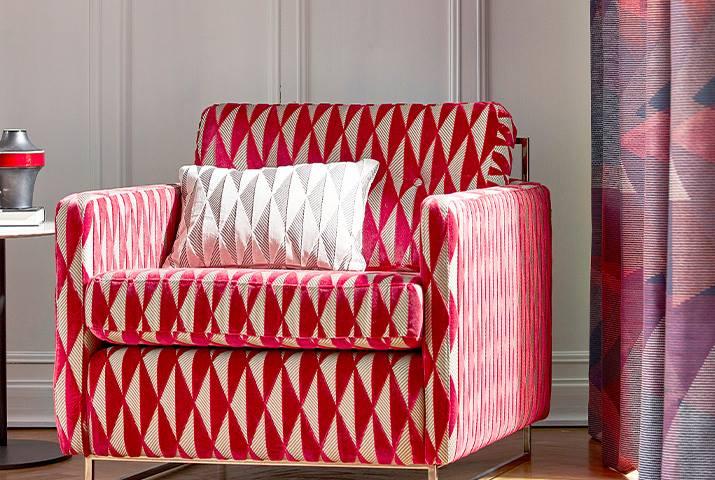 Ткани для кресла Harlequin купить в Москве | Les Stores